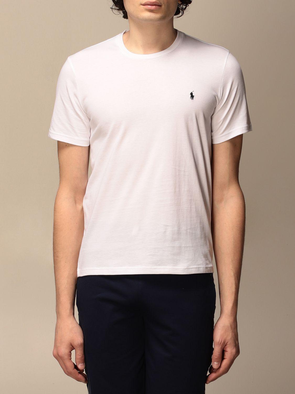 T-shirt Polo Ralph Lauren: T-shirt men Polo Ralph Lauren white 1