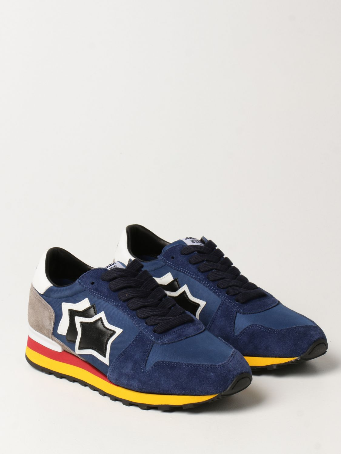 Sneakers Atlantic Stars: Atlantic Stars sneakers in nylon and suede blue 2