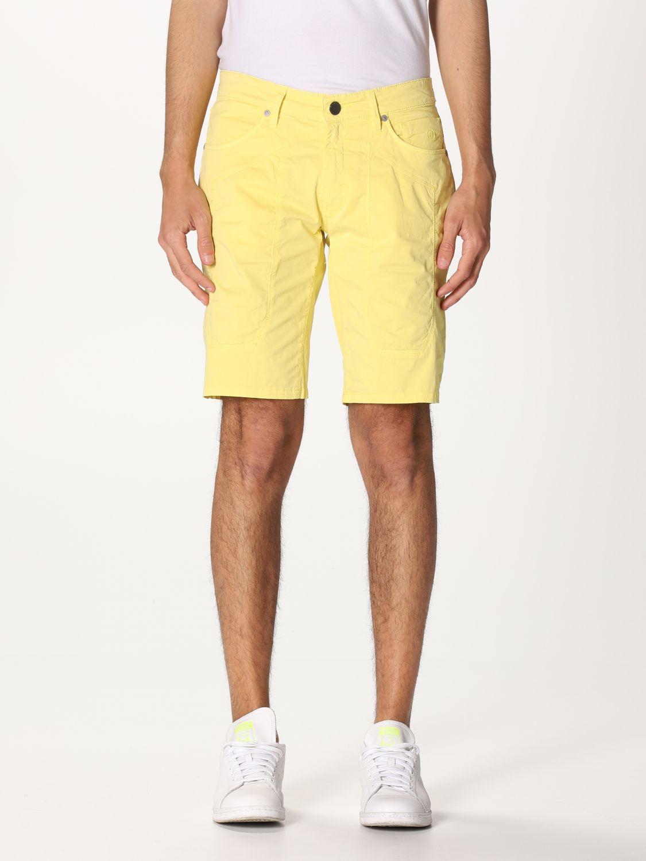 Short Jeckerson: Short men Jeckerson yellow 1