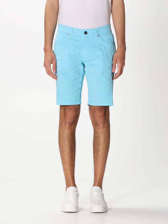 Short Jeckerson: Short men Jeckerson gnawed blue 1