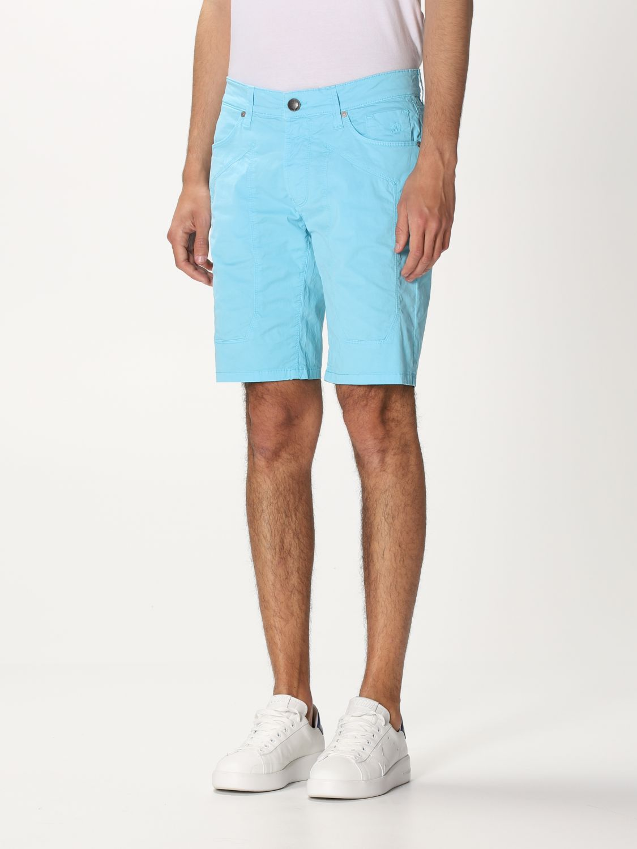 Short Jeckerson: Short men Jeckerson gnawed blue 3