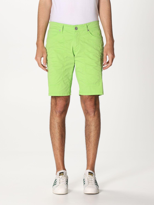 Short Jeckerson: Short men Jeckerson green 1