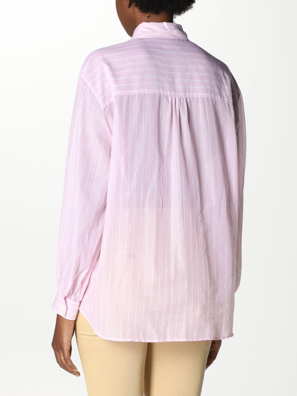 Camicia Robert Friedman: Camicia basic Robert Friedman bacchettata rosa 2