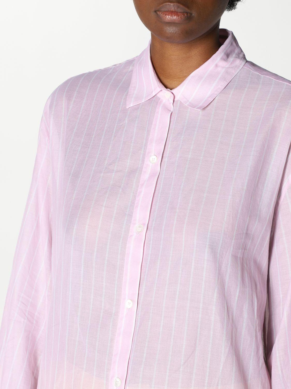 Camicia Robert Friedman: Camicia basic Robert Friedman bacchettata rosa 3