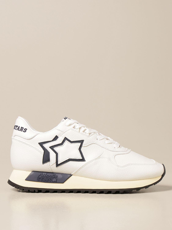 Sneakers Atlantic Stars: Sneakers Atlantic Stars in pelle sintetica bianco 1