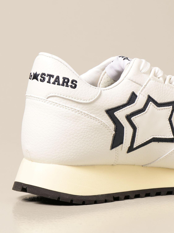 Sneakers Atlantic Stars: Sneakers Atlantic Stars in pelle sintetica bianco 3