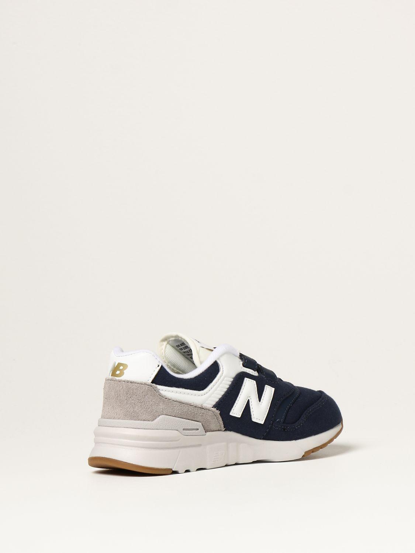 Обувь New Balance: Обувь Детское New Balance темно-синий 3