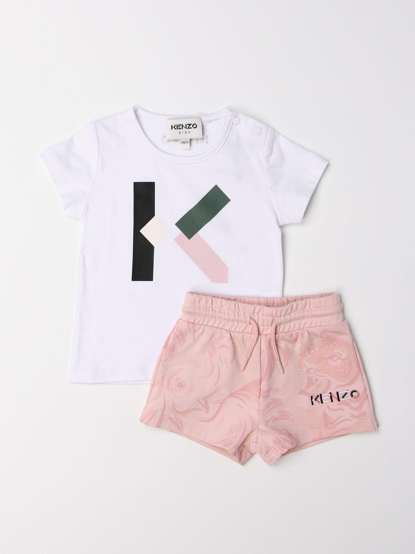 连体衣 Kenzo Junior: 连体衣 儿童 Kenzo Junior 白色 1