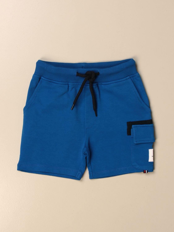 Pantacourt Peuterey: Shorts enfant Peuterey bleu 1