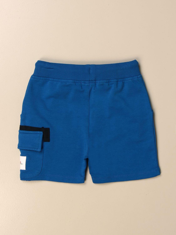 Pantacourt Peuterey: Shorts enfant Peuterey bleu 2
