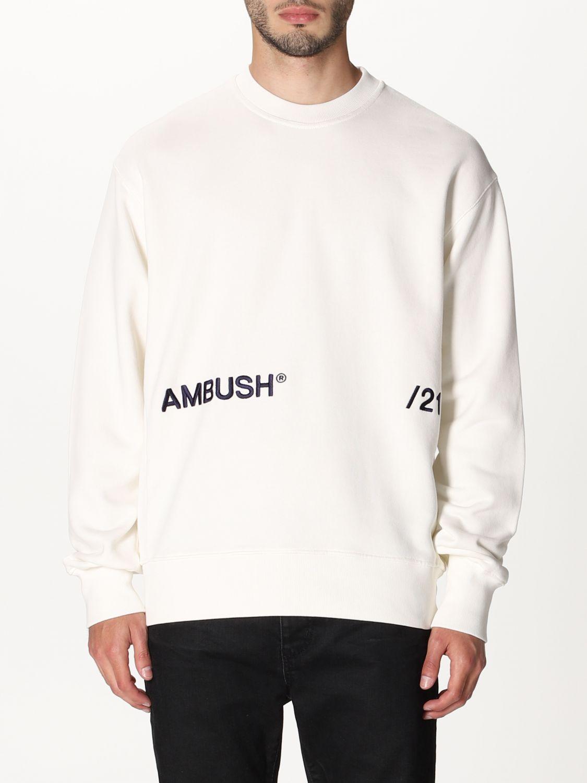 Felpa Ambush: Felpa a girocollo Ambush con logo bianco 1
