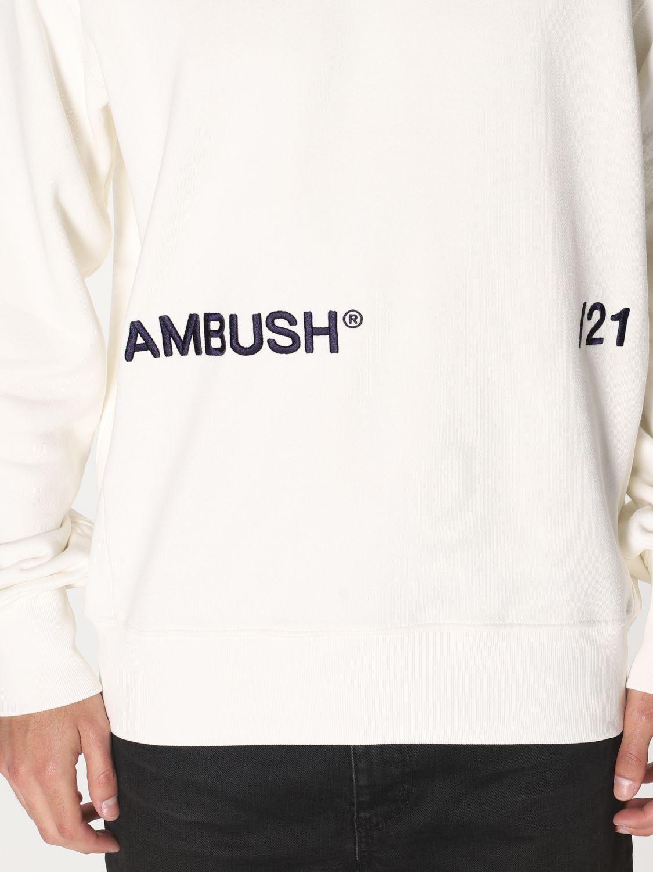Felpa Ambush: Felpa a girocollo Ambush con logo bianco 4