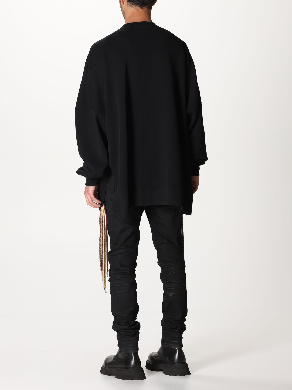 Sweatshirt Ambush: Over Ambush sweatshirt with multi laces black 3