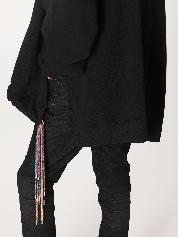 Sweatshirt Ambush: Over Ambush sweatshirt with multi laces black 5