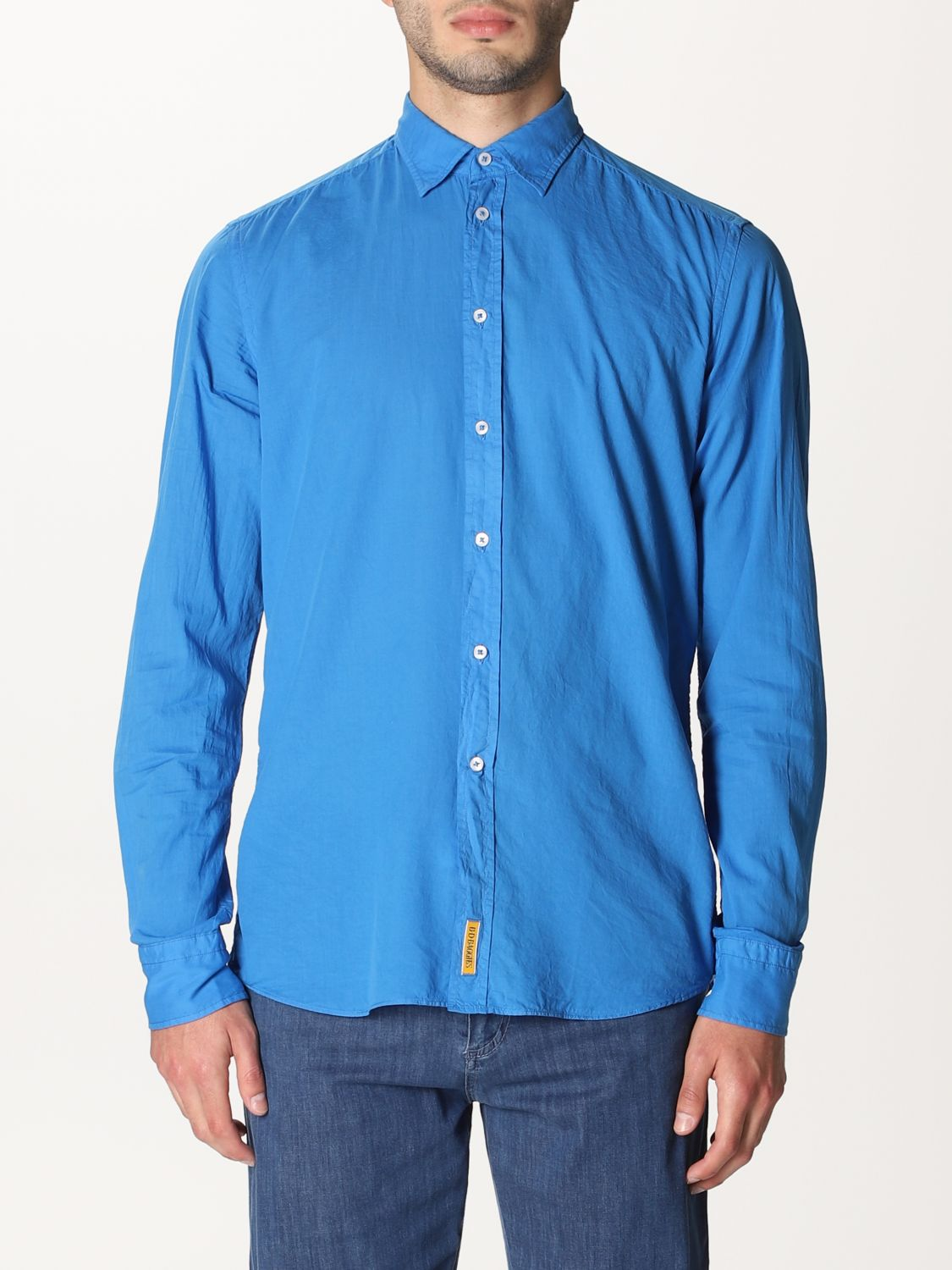 Shirt An American Tradition: Shirt men Bd Baggies royal blue 1