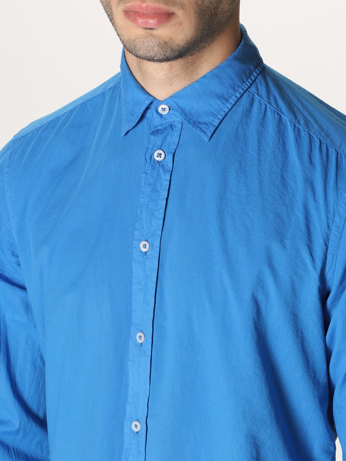 Shirt An American Tradition: Shirt men Bd Baggies royal blue 3