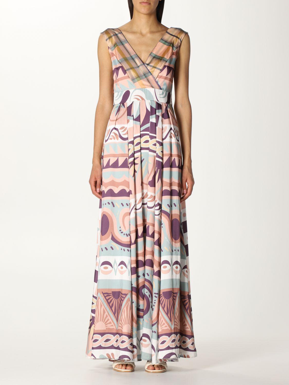 Dress Duerruote: Dress women Duerruote pink 1