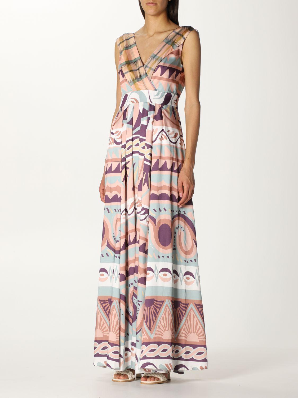 Dress Duerruote: Dress women Duerruote pink 3
