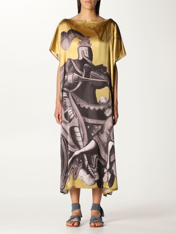 Vestido Duerruote: Vestido mujer Duerruote oro 1