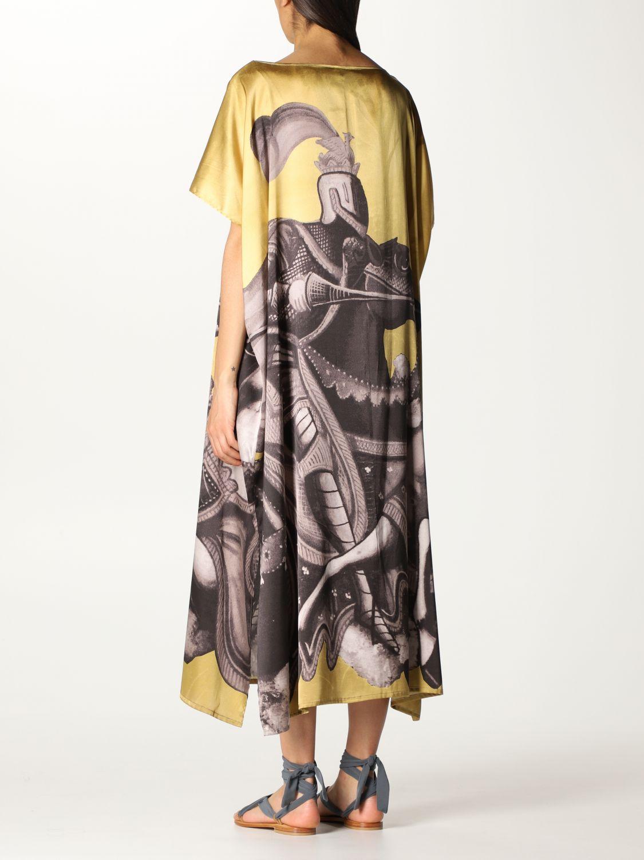 Vestido Duerruote: Vestido mujer Duerruote oro 2
