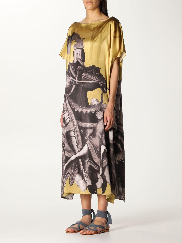 Vestido Duerruote: Vestido mujer Duerruote oro 3
