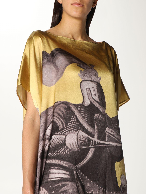 Vestido Duerruote: Vestido mujer Duerruote oro 4