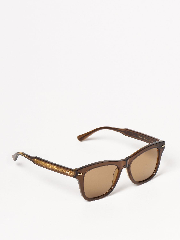 Occhiali Gucci: Occhiali da sole Gucci in acetato marrone 1