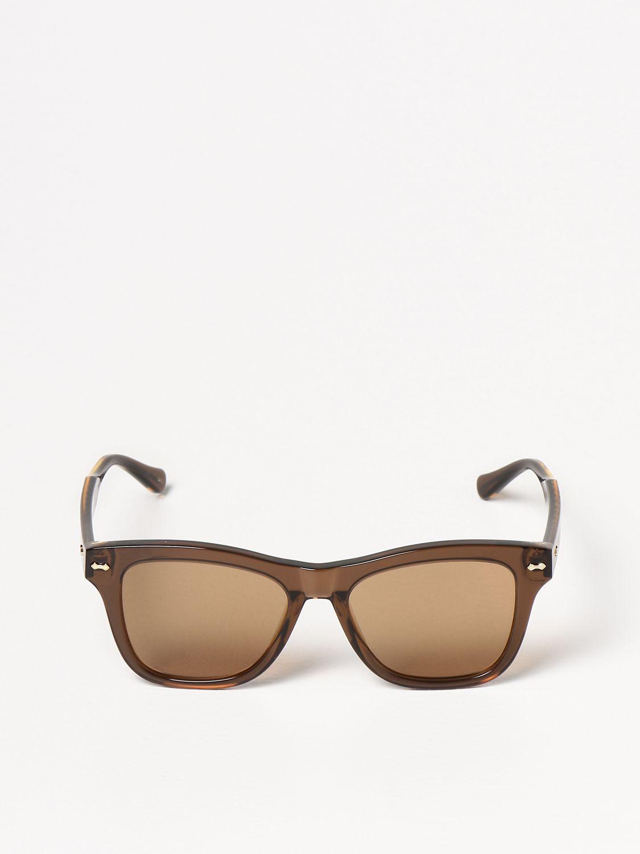 Occhiali Gucci: Occhiali da sole Gucci in acetato marrone 2