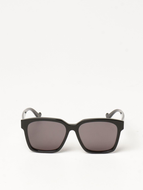 Occhiali Gucci: Occhiali da sole Gucci in acetato nero 2
