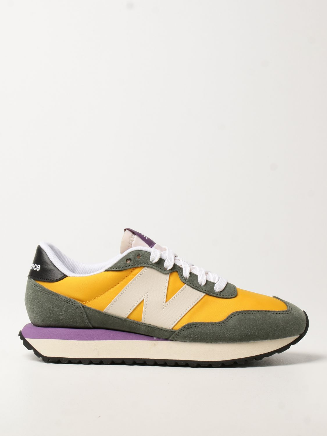 NEW BALANCE: sneakers in fabric and suede   Sneakers New Balance ...