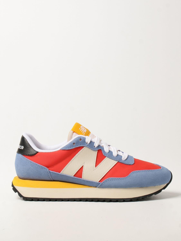 Sneakers New Balance in tela e camoscio