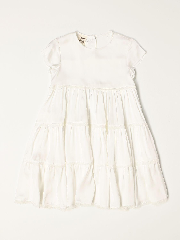 Vestido Caffe' D'orzo: Vestido niños Caffe' D'orzo blanco 1
