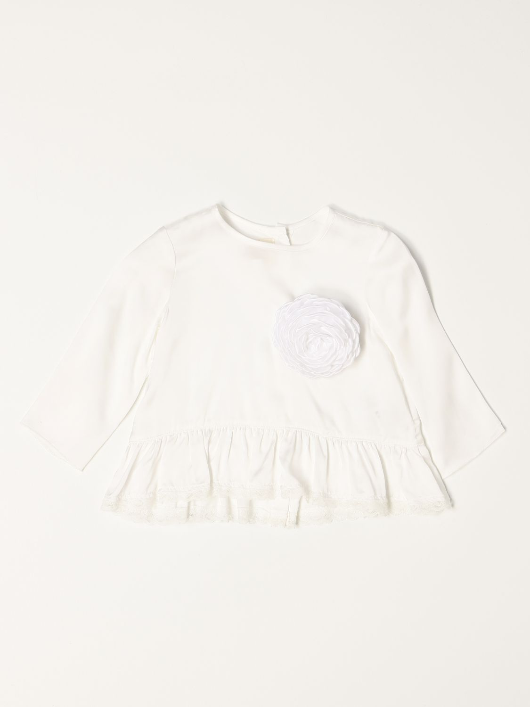 T-shirt Caffe' D'orzo: Camicia a girocollo Caffe' D'orzo bianco 1
