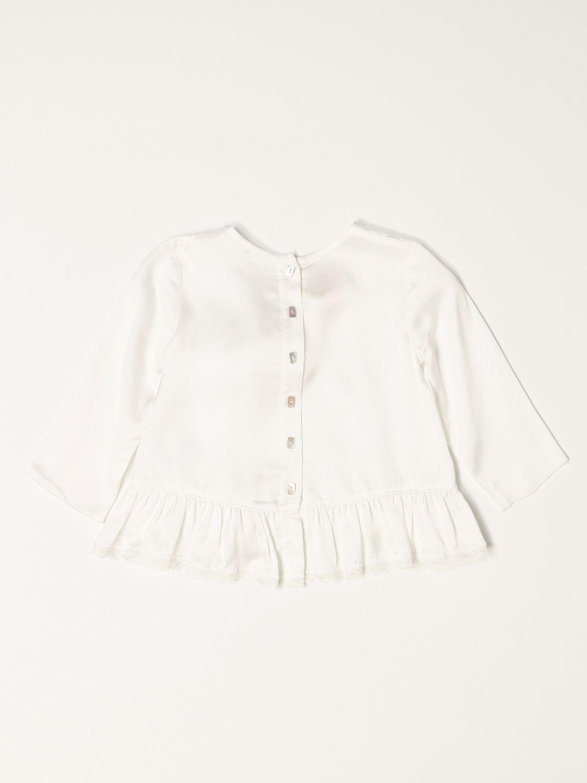 T-shirt Caffe' D'orzo: Camicia a girocollo Caffe' D'orzo bianco 2