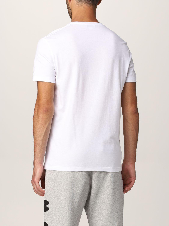 T-shirt Alexander Mcqueen: Alexander McQueen logo T-shirt white 3