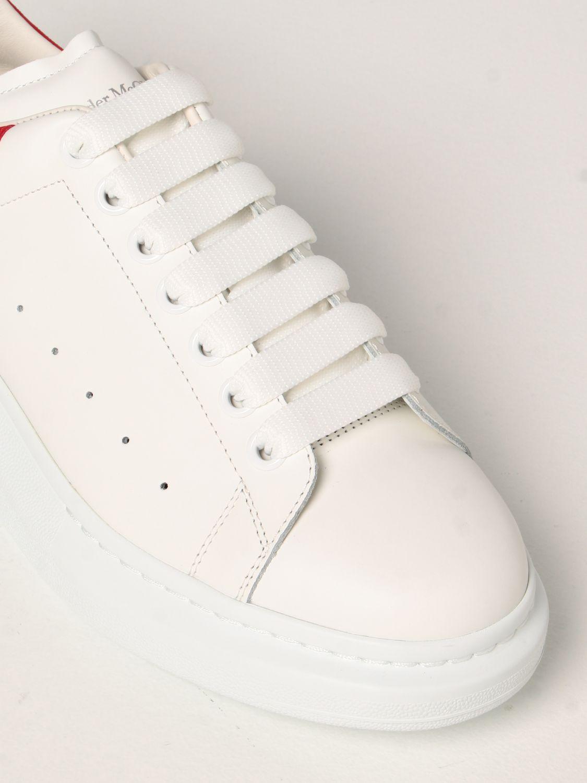 Sneakers Alexander Mcqueen: Sneakers Larry Alexander McQueen in pelle bianco 4