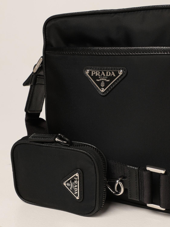 Borsa a tracolla Prada: Borsa a tracolla Prada in Nylon nero 4