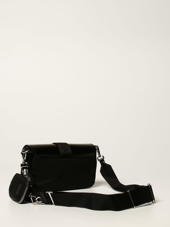Borse a tracolla Prada: Borsa a tracolla Pocket Prada in pelle e nylon nero 2