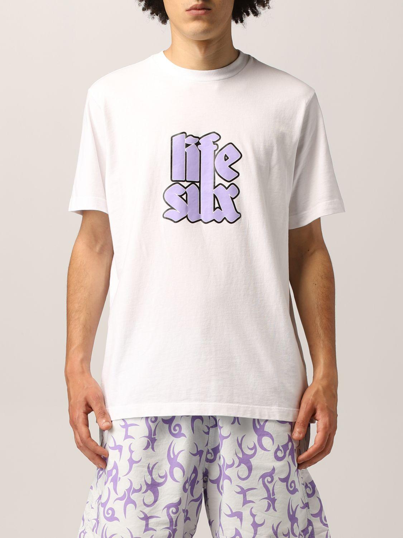 T-shirt Life Sux: T-shirt men Life Sux white 1