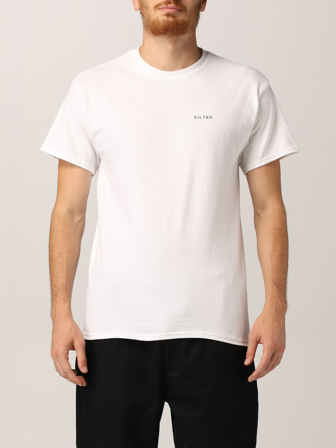 Camiseta Silted: Camiseta hombre Silted blanco 1