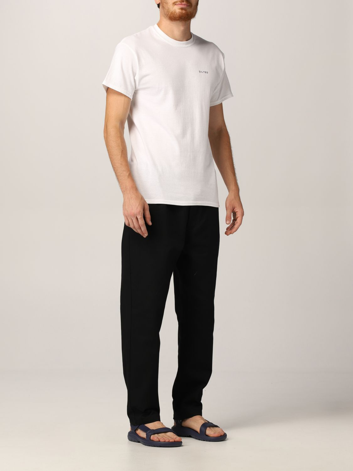 Camiseta Silted: Camiseta hombre Silted blanco 2