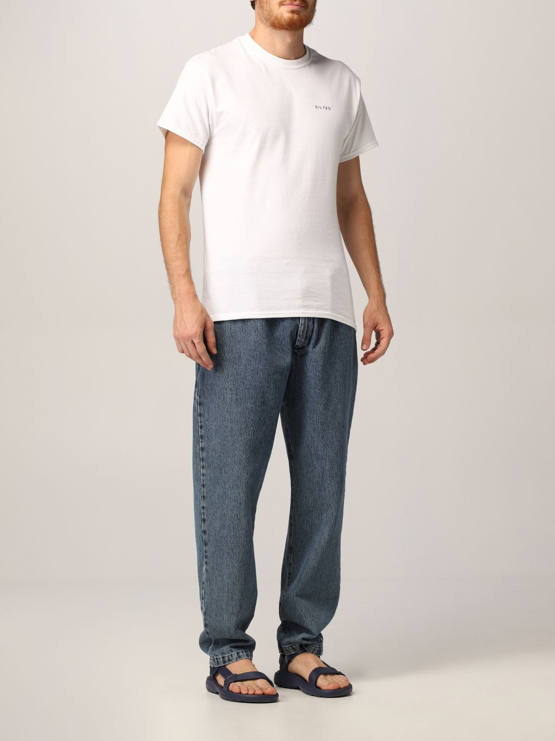 Jeans Silted: Jeans hombre Silted azul oscuro 2