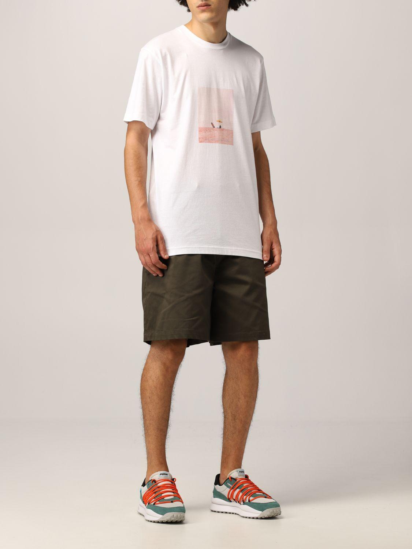 T-Shirt Silted: T-shirt herren Silted weiß 2