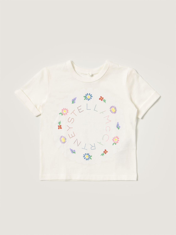 T-shirt Stella Mccartney: Stella McCartney cotton t-shirt white 1