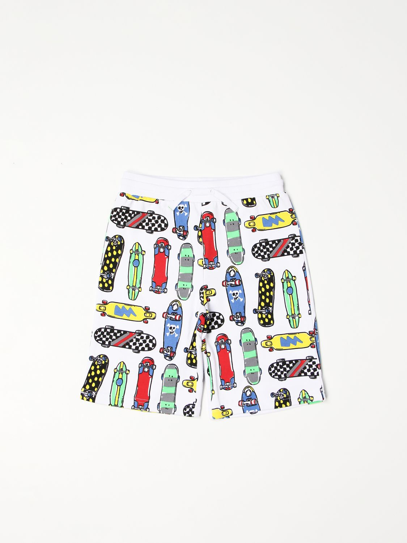Shorts Stella Mccartney: Stella McCartney Skateboard jogging shorts white 1