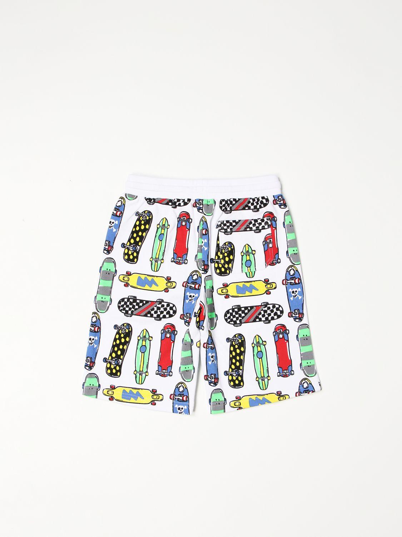 Shorts Stella Mccartney: Stella McCartney Skateboard jogging shorts white 2