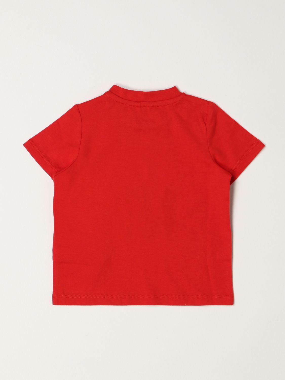 T-shirt Stella Mccartney: Stella McCartney Skateboard T-shirt in cotton red 2