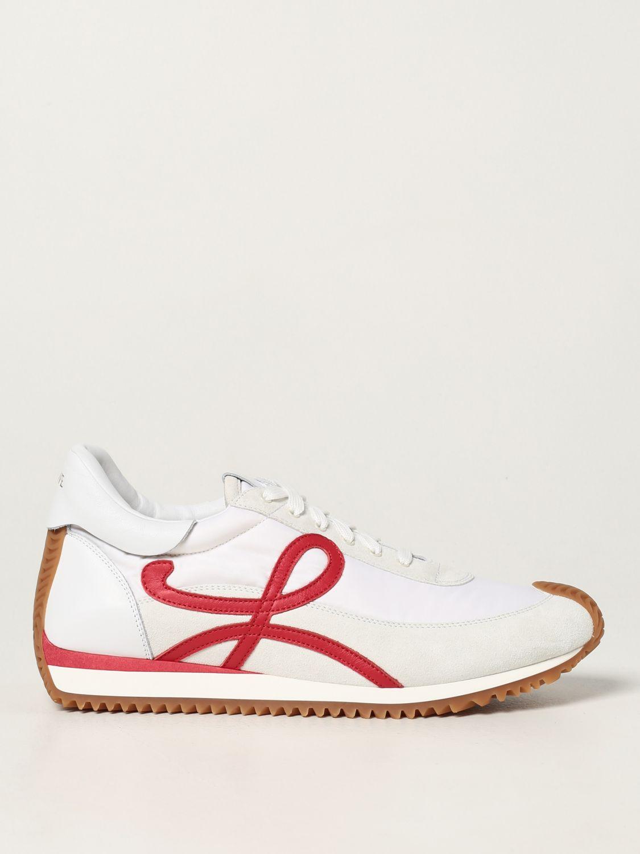 Zapatillas Loewe: Zapatillas hombre Loewe blanco 1