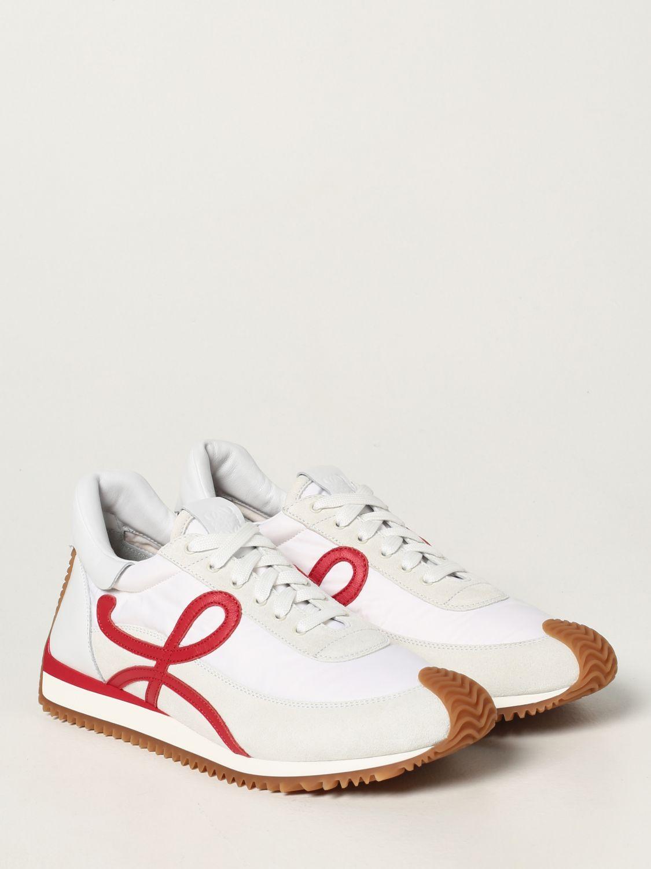 Zapatillas Loewe: Zapatillas hombre Loewe blanco 2