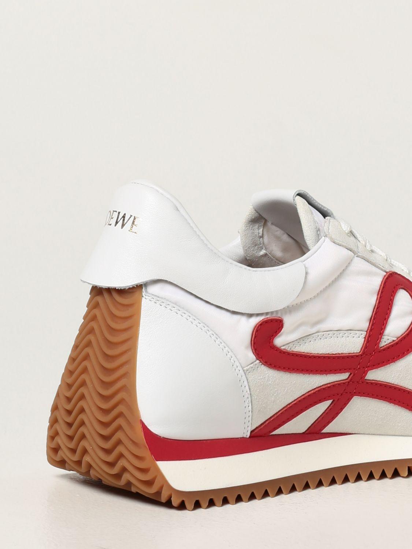 Zapatillas Loewe: Zapatillas hombre Loewe blanco 3